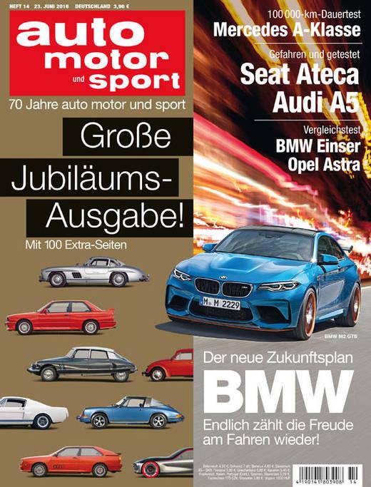 70 Jahre Auto-Magazine feiert die Motor Presse.