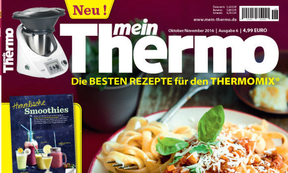 mein thermo neues magazin f r den thermomix w v. Black Bedroom Furniture Sets. Home Design Ideas