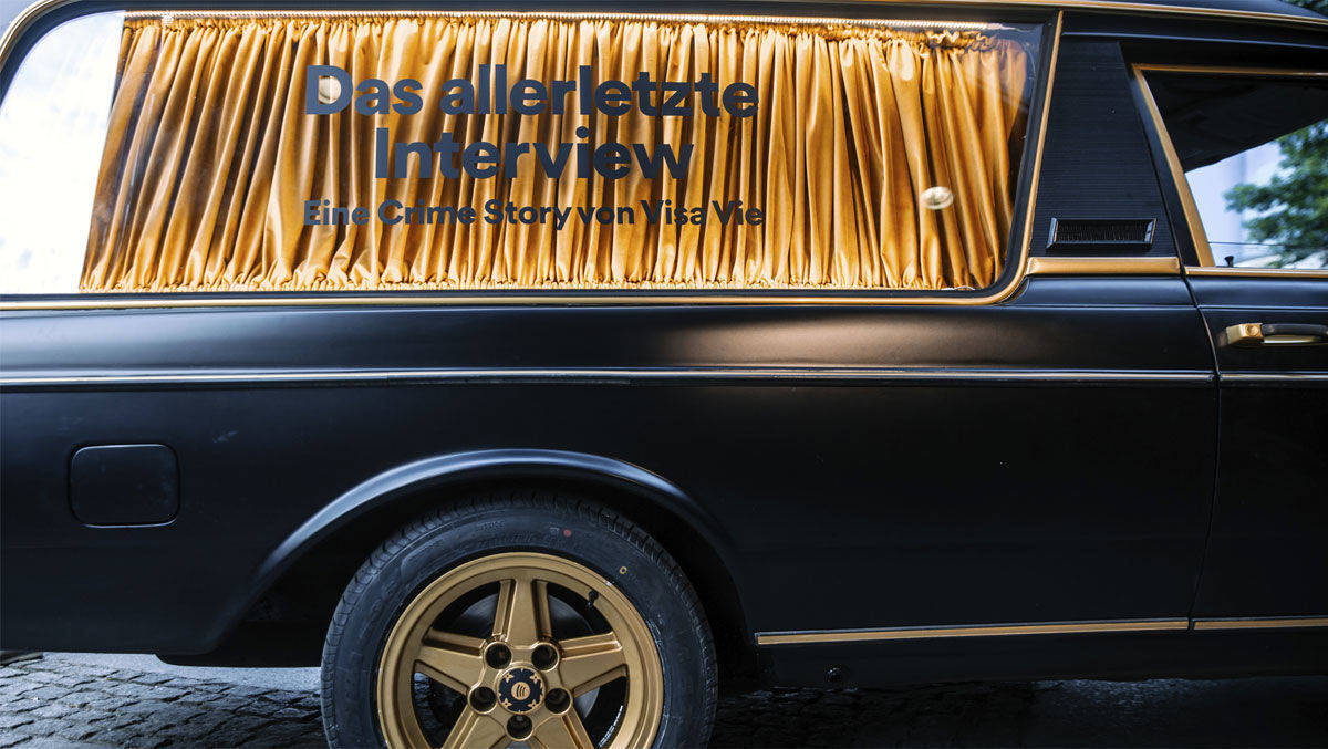 Mit Spotify Im Leichenwagen Unterwegs W V