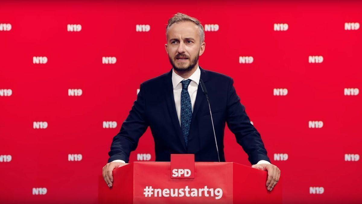 Jan Böhmermann im Kampagnen-Video.