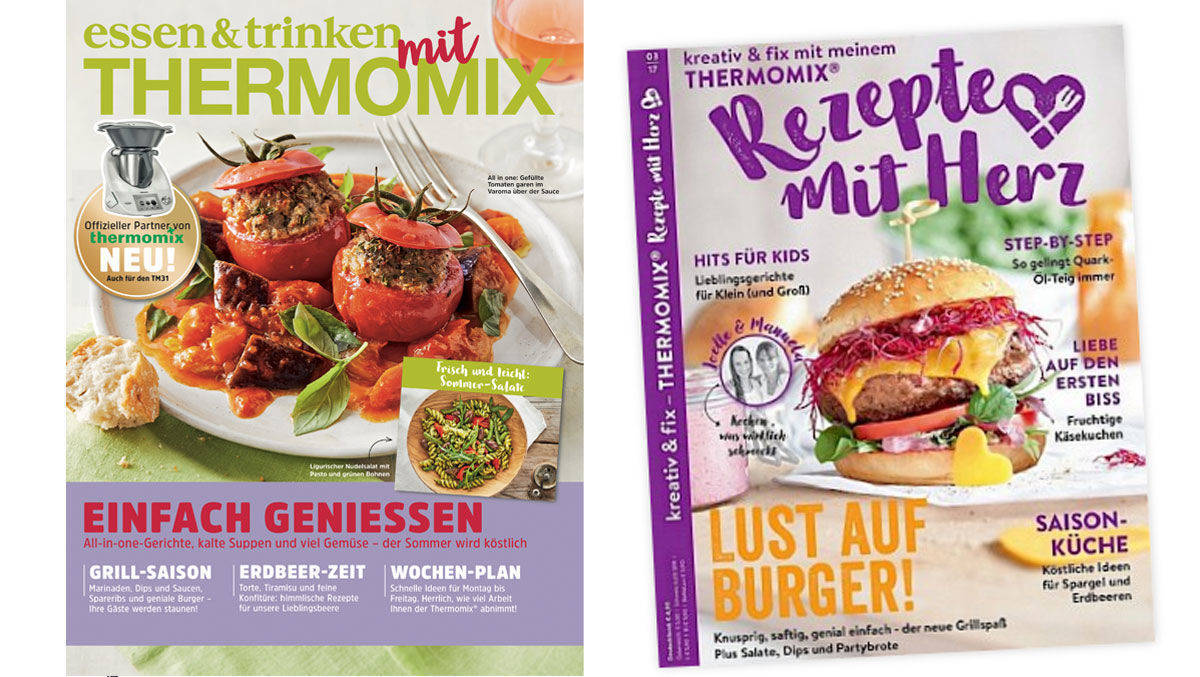 Rezepte Zeitschrift thermomix nicht für alle verlage das richtige rezept w v