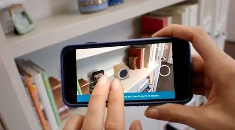 Amazon Kommt Mit Ar Funktion Fur Die App W V
