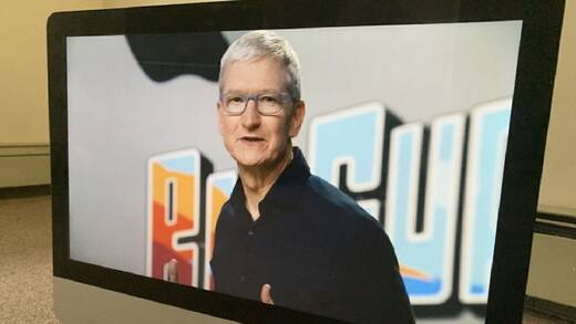 Tim Cook, Apple-Chef.