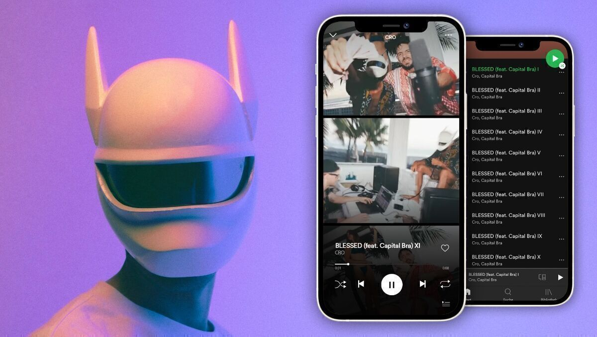 CRO und Ogilvy platzieren erstes Musikvideo bei Spotify | Special | Podcast Day | W&V