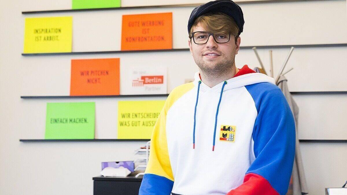 Gewinner der Kategorie Durchstarter: Karsten Kossatz, Gründer von Helfen.Berlin