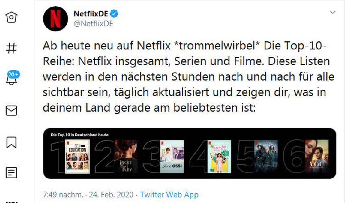 Netflix Wenig Filme