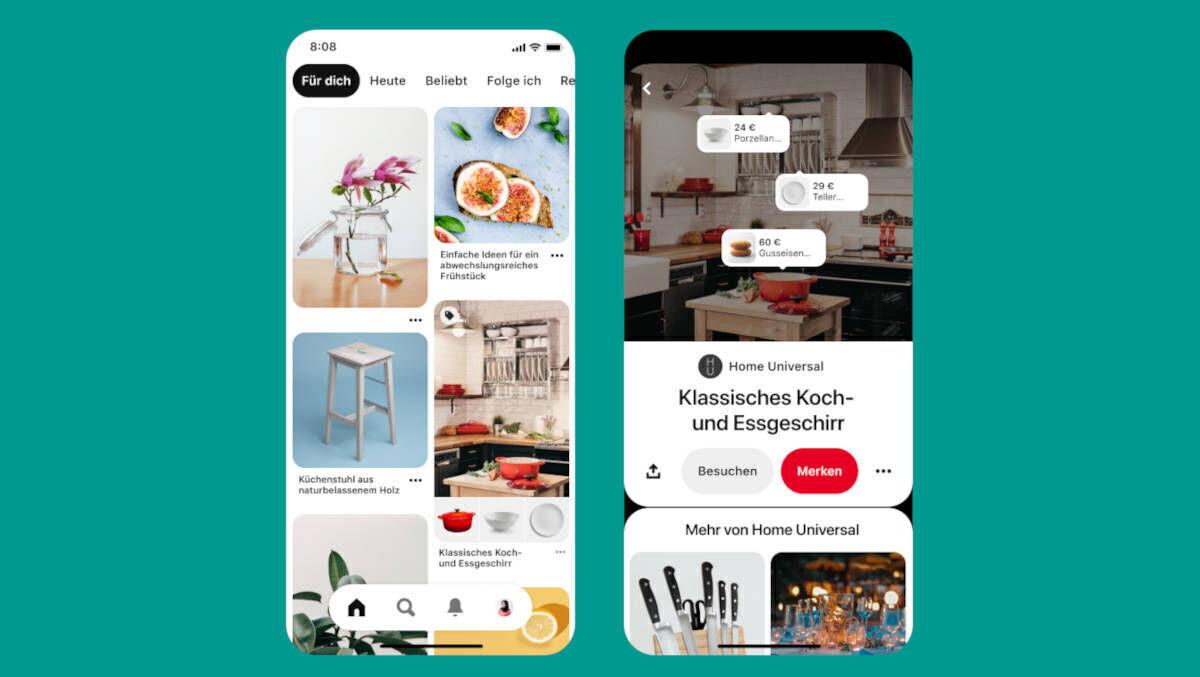 Pinterest Shopping startet in Österreich und Schweiz   W&V