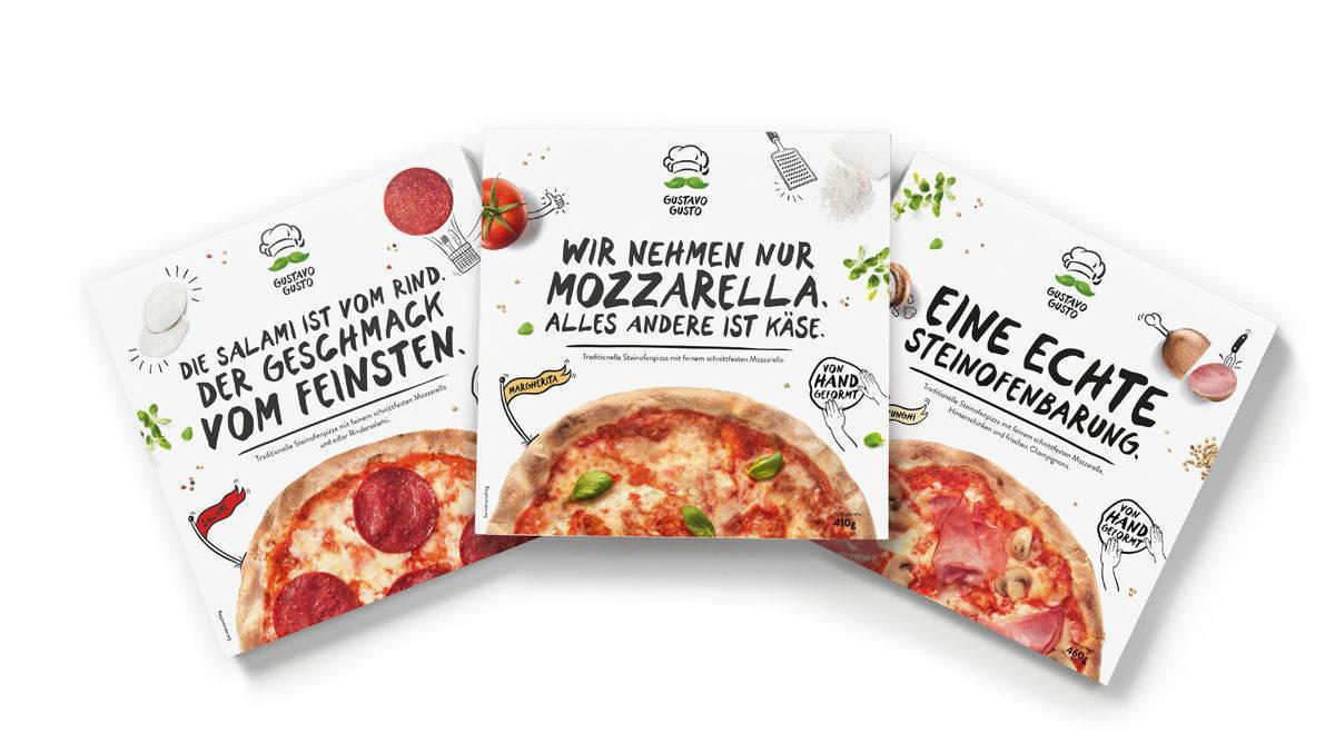 Tiefkühlpizza aus italien