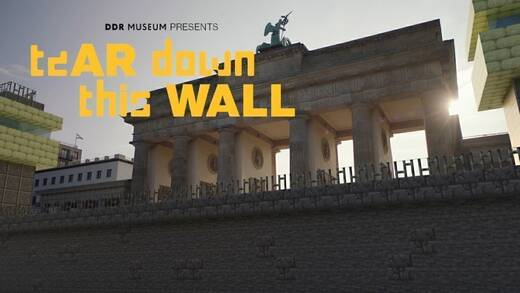 "Immersives Erlebnis: Die Gaming-App ""Tear down this wall"" von Virtue."