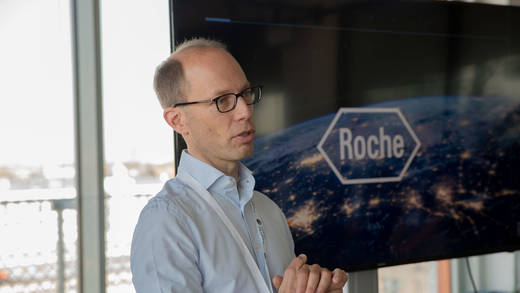 Jochen Hurlebaus, Head of Innovation and IP Management bei Roche Diagnostics